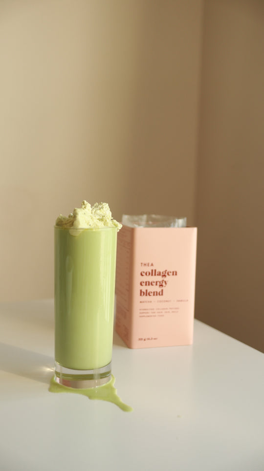 Creamy Collagen Matcha Latte