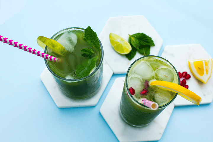 Zesty Matcha Iced Tea