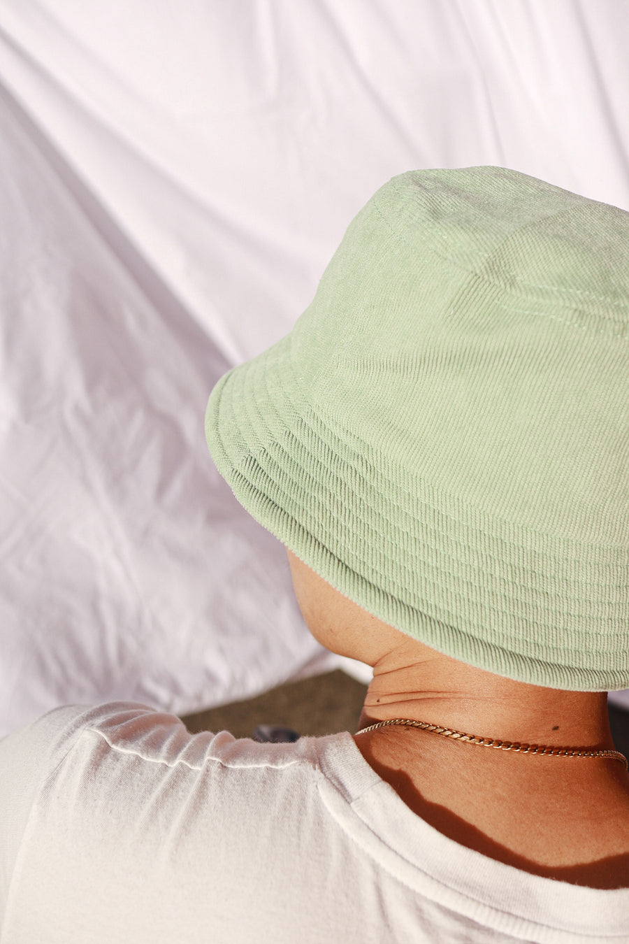 Matcha Latte Bucket Hat - Thea