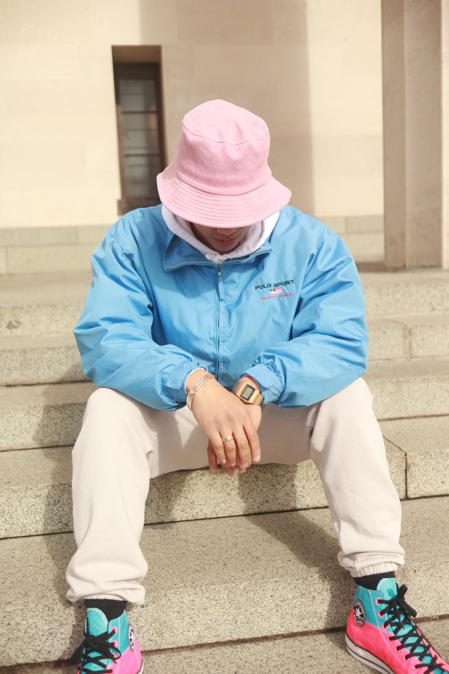 Strawberry Cream Bucket Hat - Thea