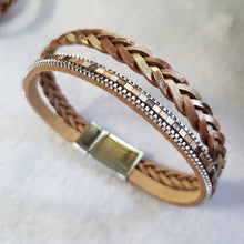 Braided Single Wrap Bracelet - The Pearl & Stone Jewelry
