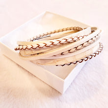 Classic leather wrap - The Pearl & Stone Jewelry