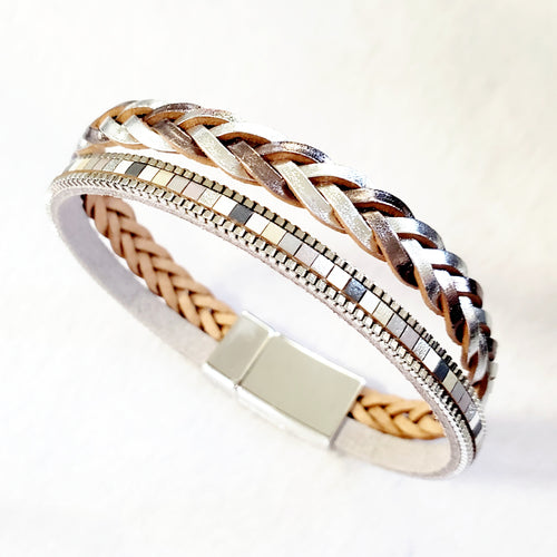 Braided Single Wrap Bracelet