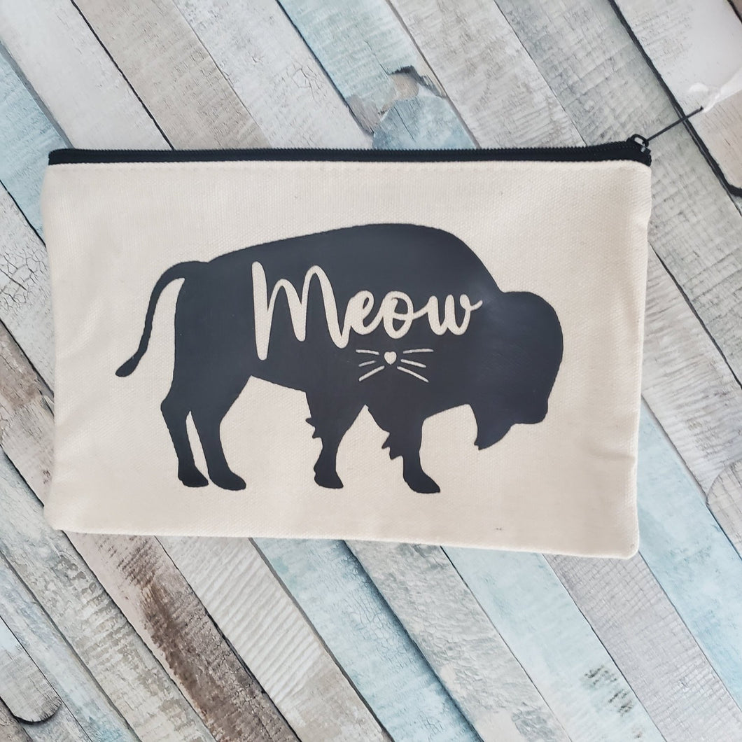 Buffalo Meow Canvas Bag
