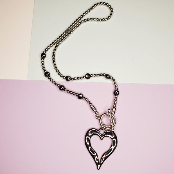 Davina Heart Necklace