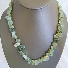 Prehnite Gemstone (Grape Jade) Necklace - The Pearl & Stone Jewelry