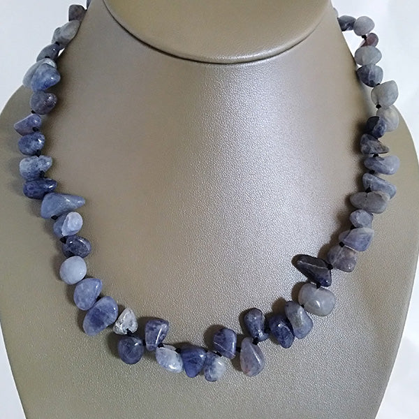 Periwinkle Quartz Necklace - The Pearl & Stone Jewelry