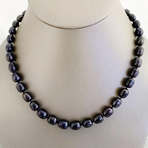 Midnight Blue Freshwater Pearls - The Pearl & Stone Jewelry