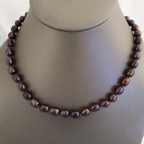 Plum Freshwater Pearls - The Pearl & Stone Jewelry