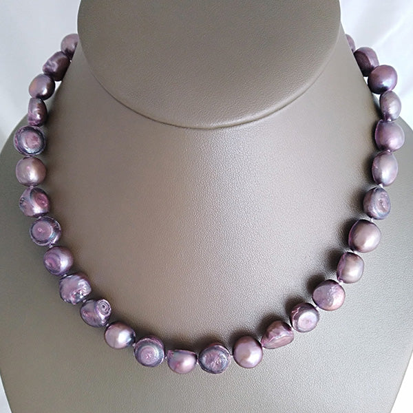 Purple Freshwater Pearls - The Pearl & Stone Jewelry