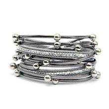 The City Girl Wrap Bracelet - The Pearl & Stone Jewelry