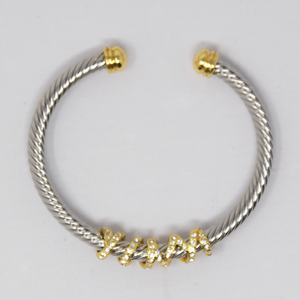 Bracelet Gold and Silver