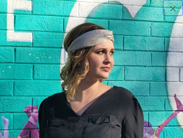 Turban Style Headbands Made With Authentic LV Altered Designer Materials