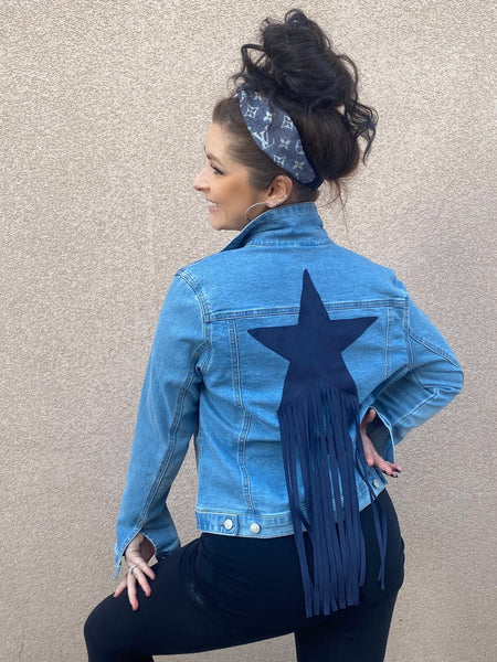 A Star Is Born Denim Jacket