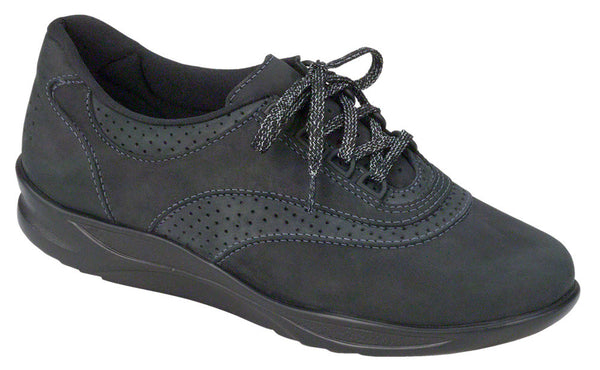 Walk Easy - Nero/Charcoal Nubuck