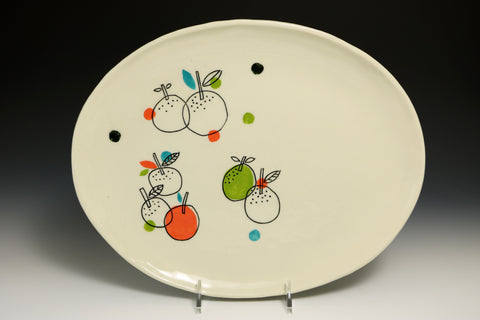 Fruit oval plate
