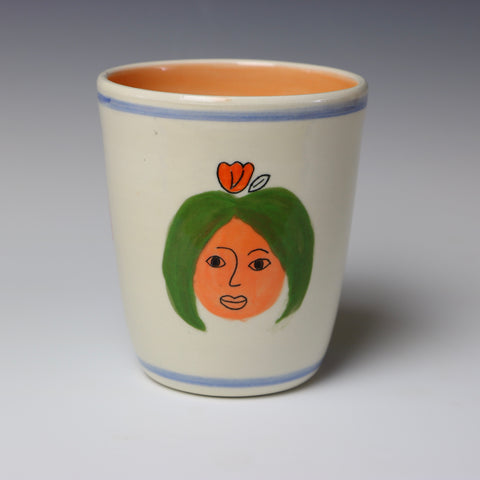 Floating lady head cup - 2