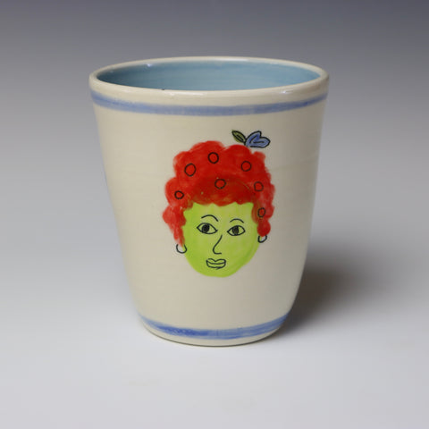 Floating lady head cup - 4