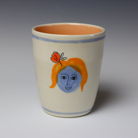 Floating lady head cup - 5