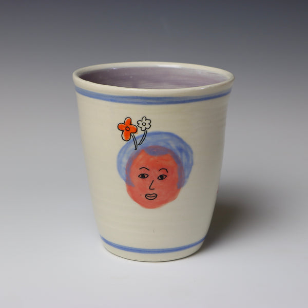 Floating lady head cup - 7