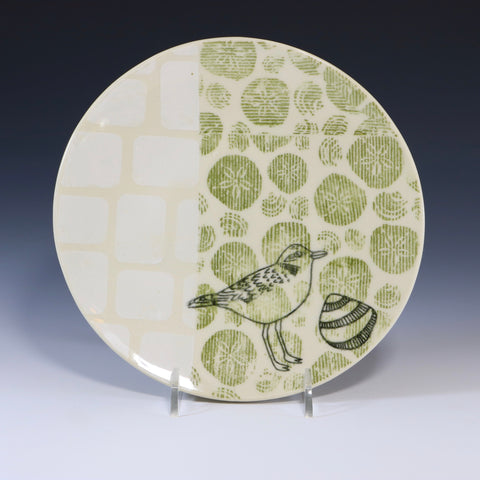 Snowy plover plate