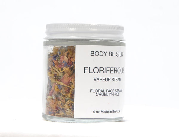 Floriferous... Vapeur French Floral Face Steam - Body Be Silk
