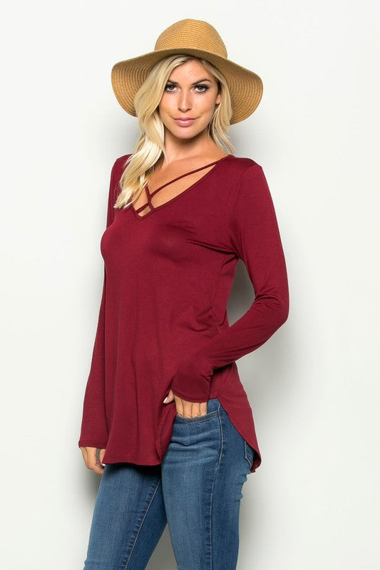 Burgundy Delight Shirt