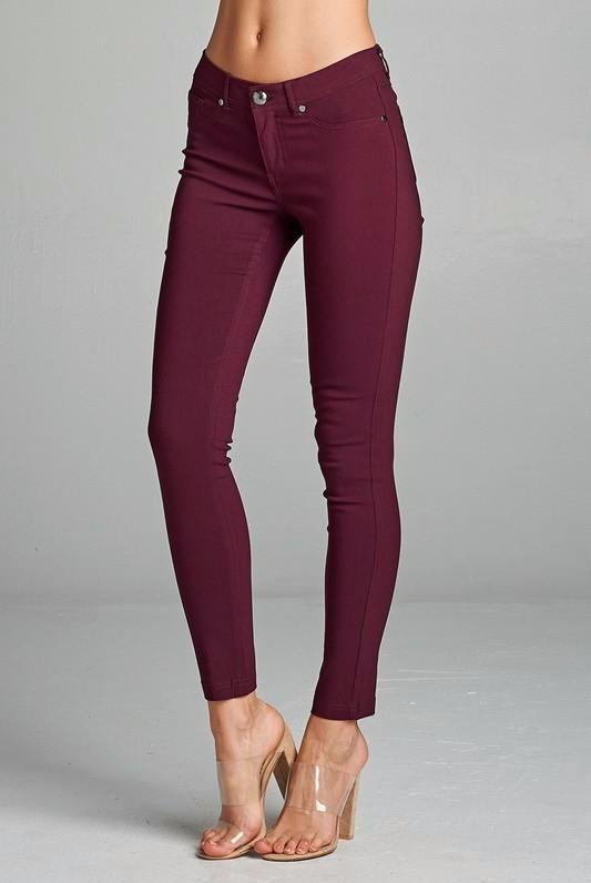 Just Plum Pants