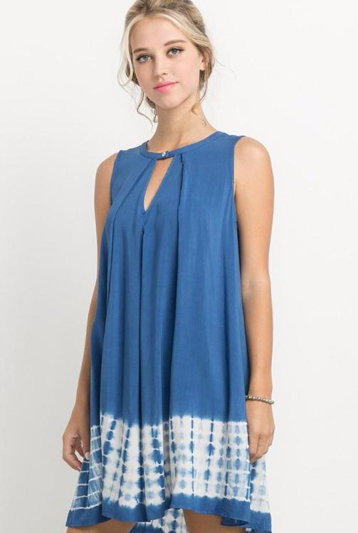 Snorkel Blue Swing Dress