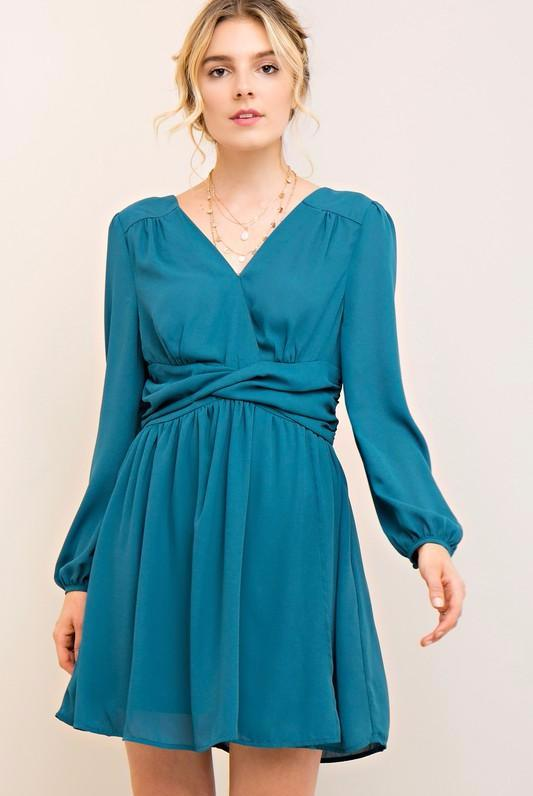 Robin Teal Dress