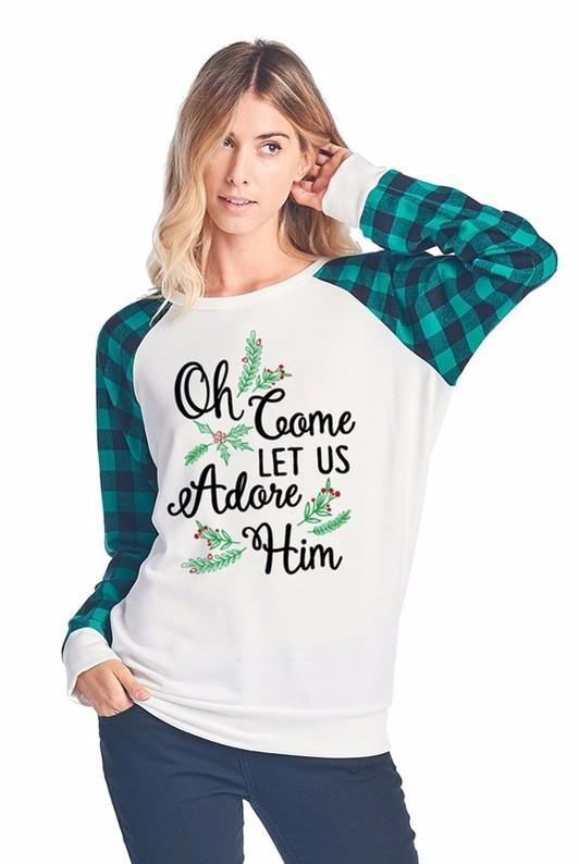 Let's Adore Him Sweater