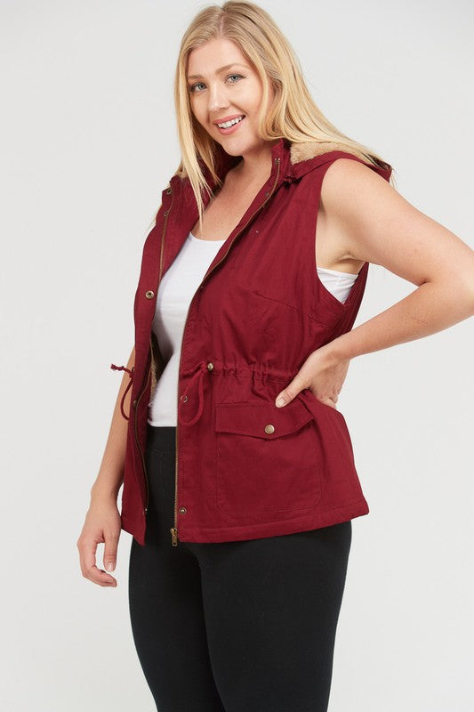 Cozy Person Fur Lined Vest (S-3XL)
