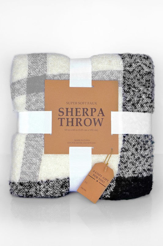 No Time Like Nap Time Sherpa Blanket