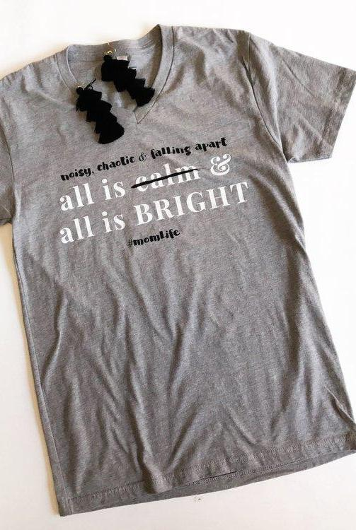 It's All Cray Christmas Tee