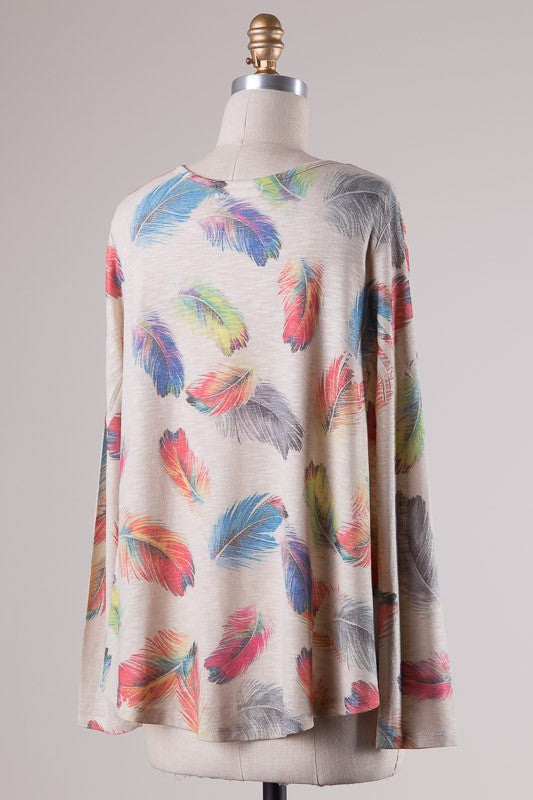 Feather Days Top