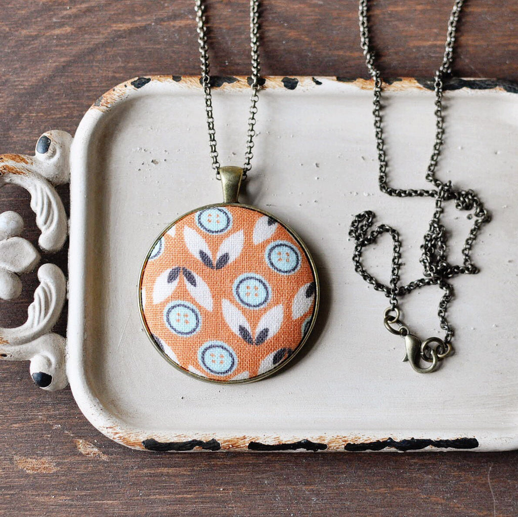 Orange You Glad Necklace {HM}