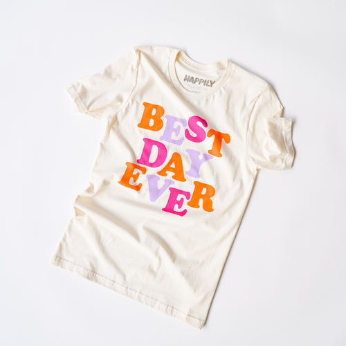 Best Day Ever Tee in Fall Trio