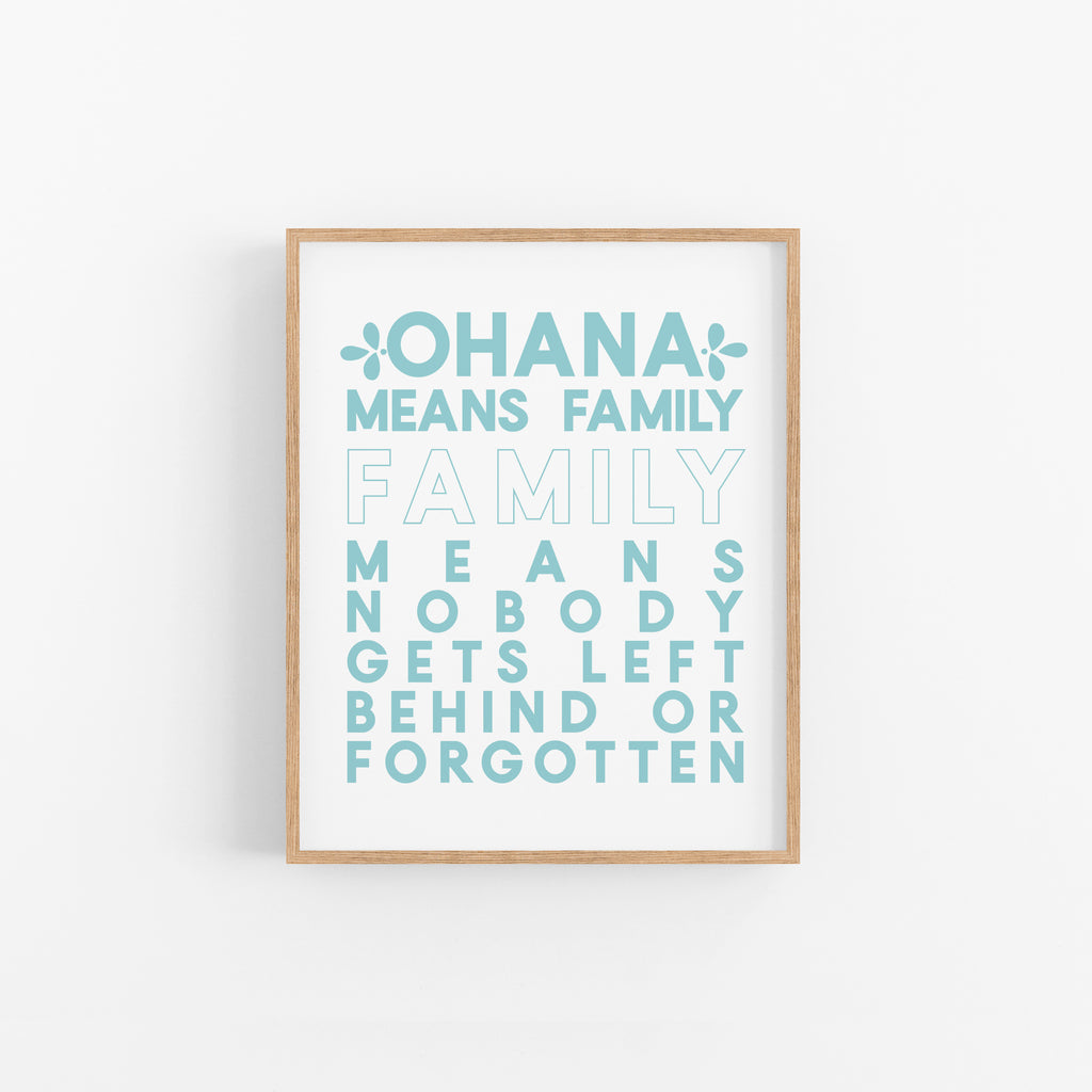 Ohana Means Family - Happily Ever Tees