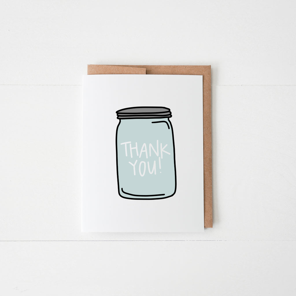 Thank You Mason Jar - Happily Ever Tees