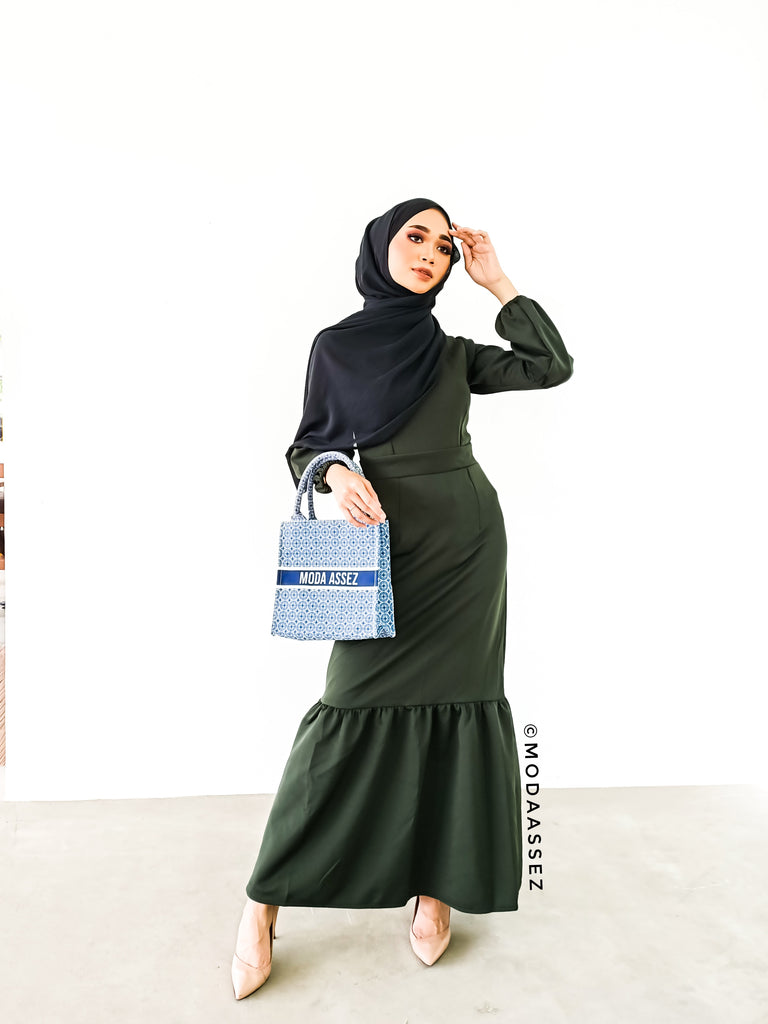 Maliha (Army Green) • مليحة