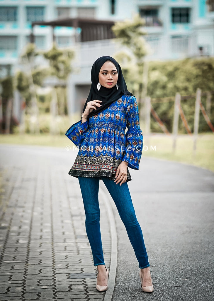 EID ADHA EDT - SALOMA TOP 2.0 KIDS [Blue]