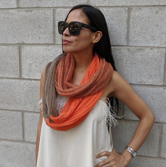 Summer Infinity Scarves