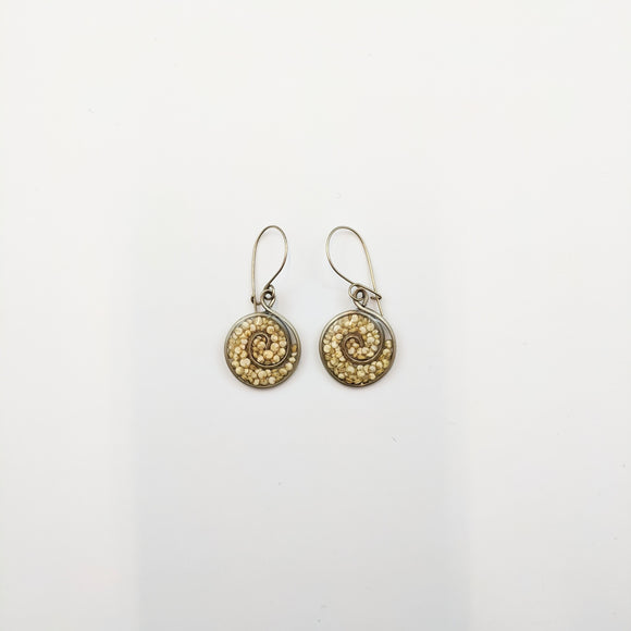 Round-shaped Earrings 17mm