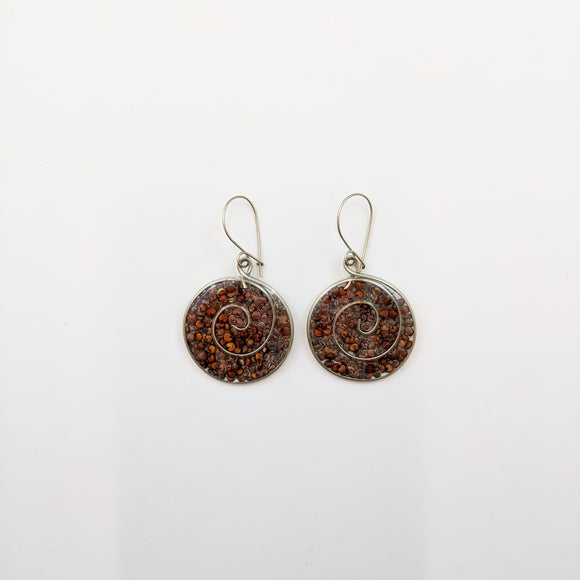Round-shaped Earrings 27mm