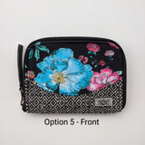 "One of a kind Women's Wallet ""Watercolor Flowers"""