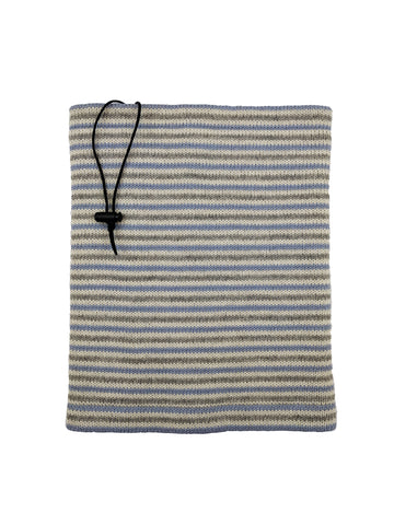 "Neckwarmer ""Blue Grey"""