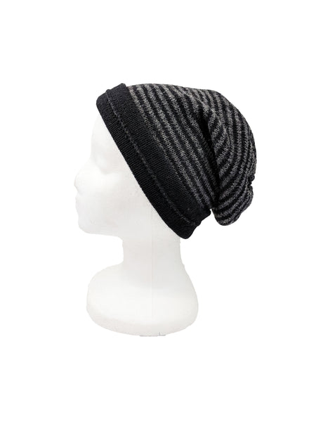 "Neckwarmer ""Black & Charcoal"""