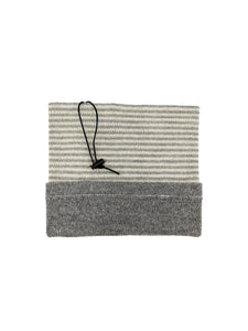 "Neckwarmer ""Medium Grey Combo"""