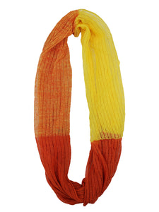 "Infinity Scarf ""Orange & Yellow"""