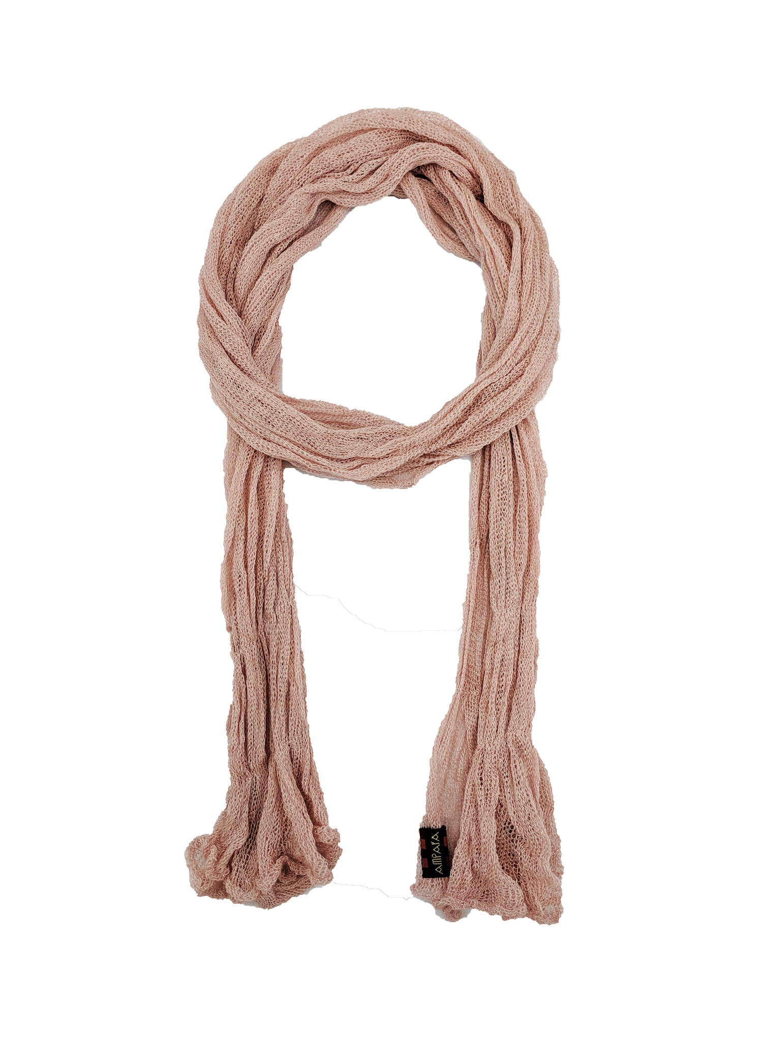 "Simple Scarf ""Pink"""